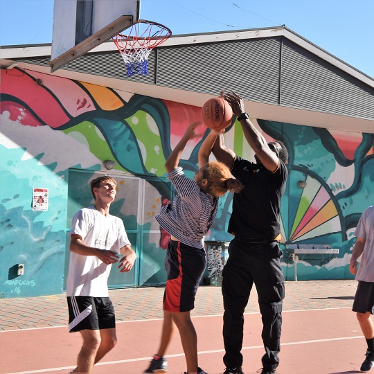 Hoops and Jams brings urban culture and sport to youth in the heart of Leederville