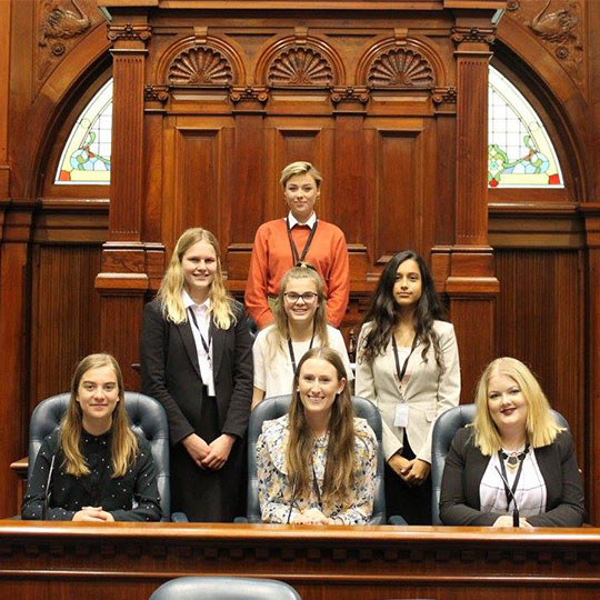 Youth Parliamentarians bill sets sights for State Parliament