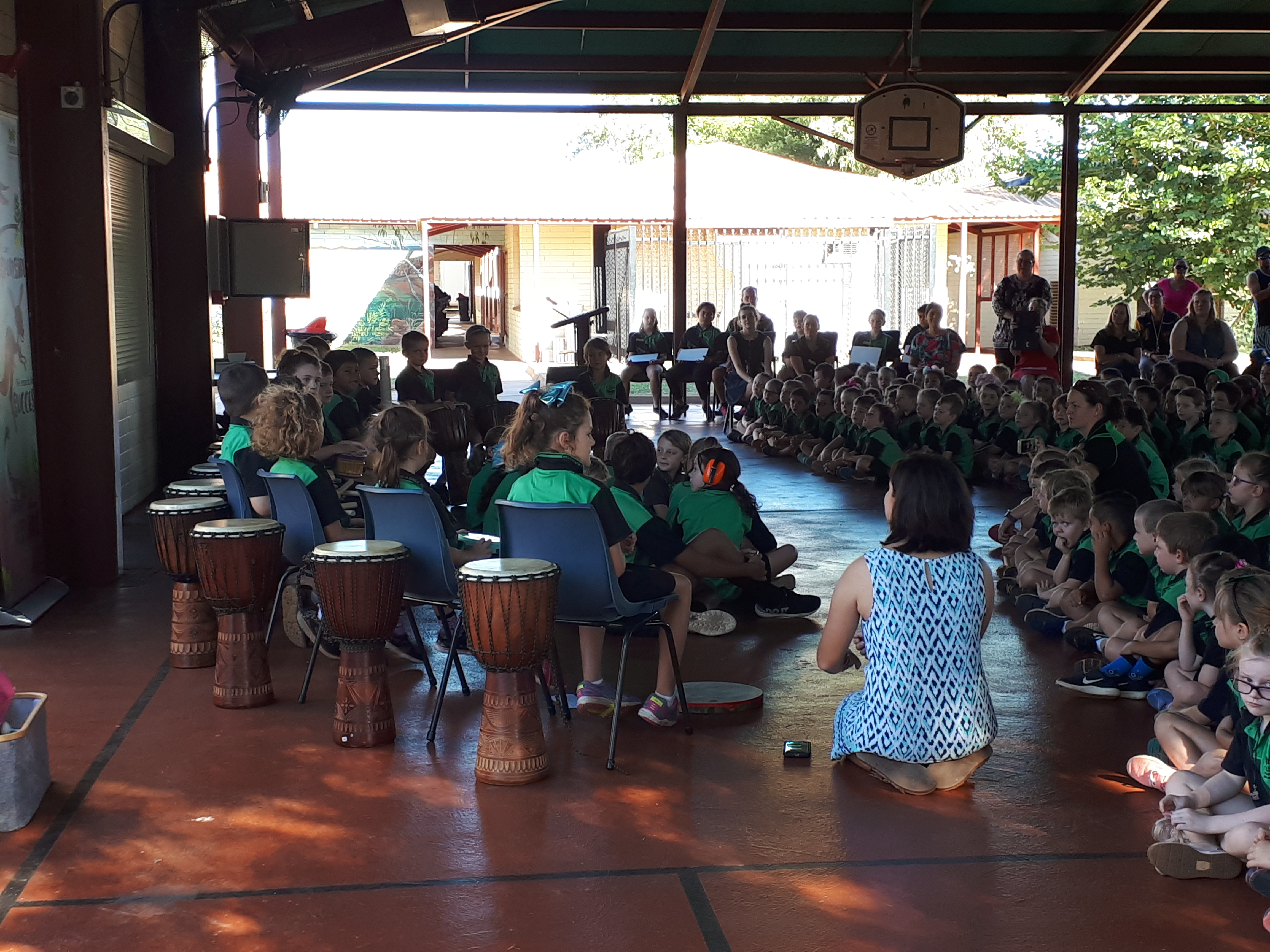 Social skills tuned in YMCA WA Drumbeat Program