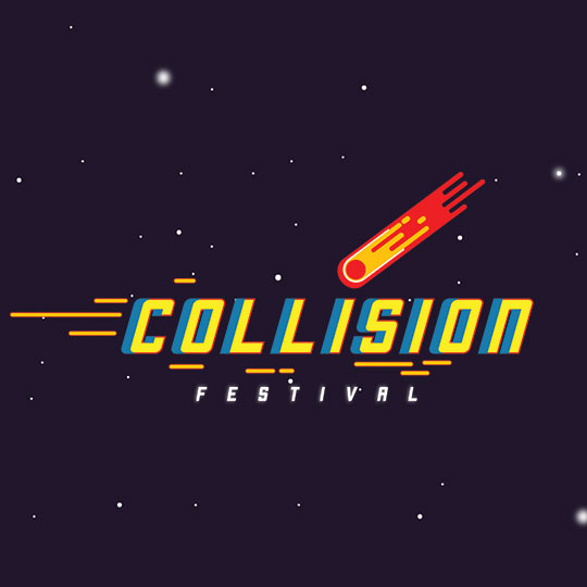 Save the date! Collision Festival is coming to YMCA HQ on Sunday 3 March 2019