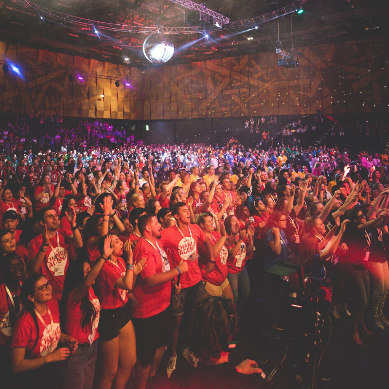 What Happens When You Get 3000 Young People in One Room? A Global Celebration!