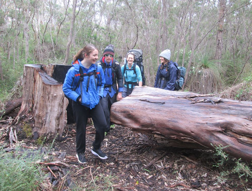 Youth Leaderships skills put to the test in the bush